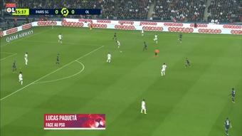 La belle performance de Paquetá contre Paris. DUGOUT