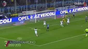 I migliori tre gol del Bologna in trasferta contro l'Atalanta. Dugout