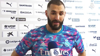 Karim Benzema revient sur la victoire face à Valence. Dugout