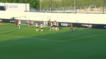 Alderete has scored his second goal for Valencia. DUGOUT
