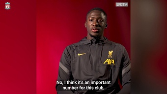 Konaté on taking the number five jersey and Liverpool aims. DUGOUT
