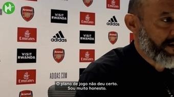 Veja o que disse o técnico do Tottenham. DUGOUT