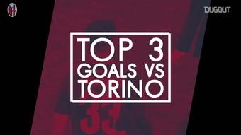 I migliori tre gol del Bologna contro il Torino. Dugout