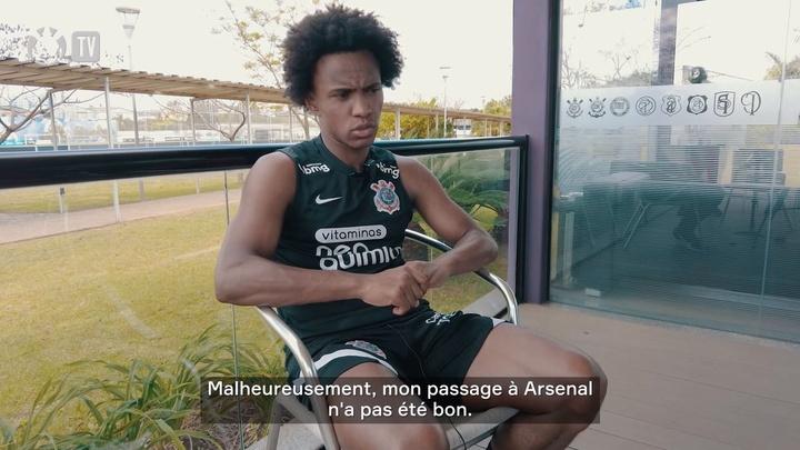 Willian est revenu sur son passage à Arsenal et sur son retour aux Corinthians. Dugout
