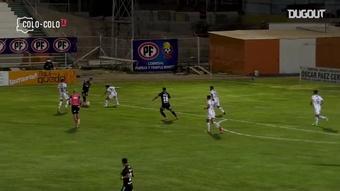 VÍDEO: el decisivo doblete de Morales con Colo-Colo. DUGOUT/Colo-Colo