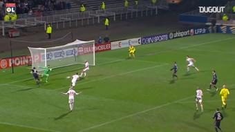 Alexandre Lacazette scored some great goals against Monaco. DUGOUT