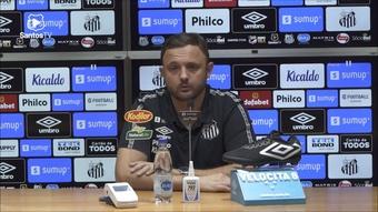 Executivo do Santos comenta sobre situação de Marinho. DUGOUT