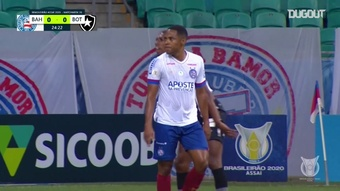 Bahia got a very late winner versus Botafogo in the Brasileirao. DUGOUT