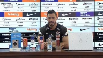 Giuliano fala sobre ansiedade de quarteto atuar junto no Corinthians.
