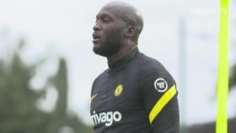 La prima settimana di allenamento di Lukaku al Chelsea. Dugout
