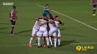 Sport derrotou o Santa Cruz por 2 a 1. DUGOUT