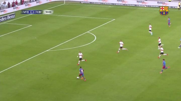 Com golaço de Depay, Barcelona derrota o Stuttgart em amistoso. DUGOUT