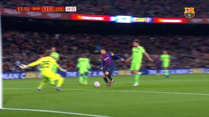 VÍDEO: los mejores goles de Messi en Copa del Rey y Supercopa de España. DUGOUT