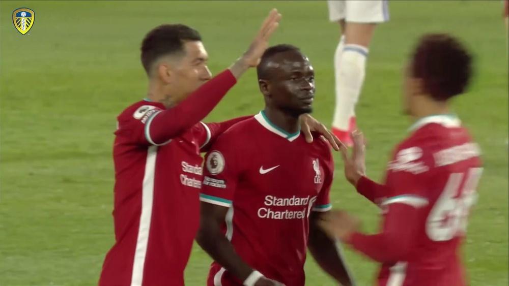 Résumé de Leeds 1-1 Liverpool. Dugout