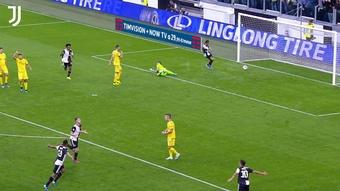 Aaron Ramsey got his first Juventus goal back in September 2019. DUGOUT