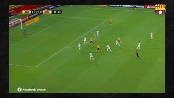 Los mejores momentos de Damián Díaz en la Libertadores. Captura/DUGOUT