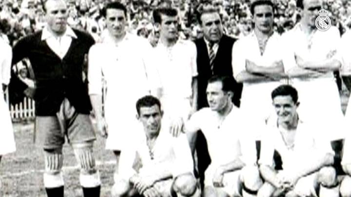 85 años de la séptima Copa de España del Madrid. DUGOUT