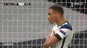 Carlos Vinicius scored twice as Spurs beat Ludogorets 4-0. DUGOUT