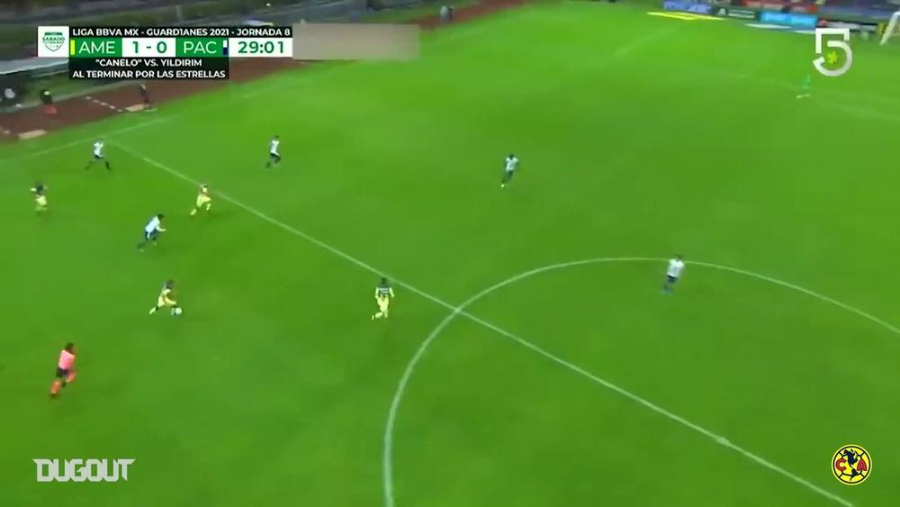 Il pazzesco gol da centrocampo di Sánchez. Dugout