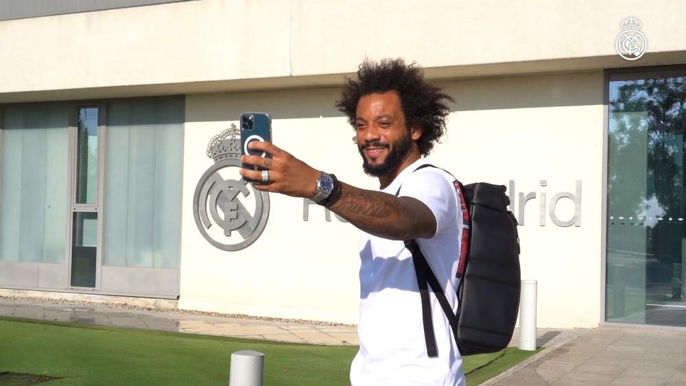 VÍDEO: Marcelo mostró la pretemporada blanca desde dentro. DUGOUT