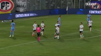 El gol de Bolados no valió de nada a Colo-Colo. Dugout