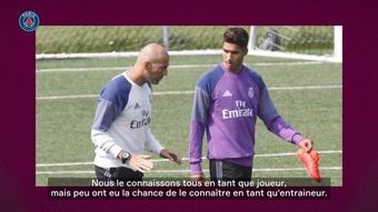 Hakimi évoque sa relation avec Zidane. Dugout