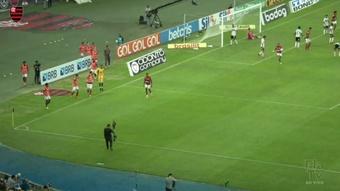 Flamengo were far too good for Sao Paulo. DUGOUT