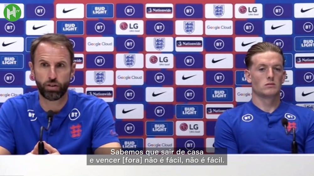 Southgate diz que Inglaterra está preparada para parar Lewandowski.