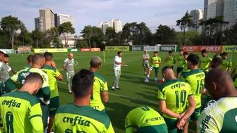 Palmeiras finaliza preparação para duelo contra o Flamengo. DUGOUT