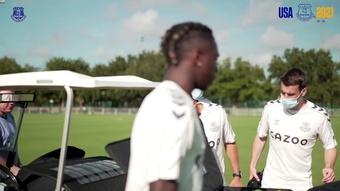 James Rodriguez et Everton se préparent en Floride. Dugout