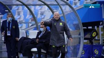 Gerson comenta conversa com Sampaoli antes de chegar ao Marseille. DUGOUT