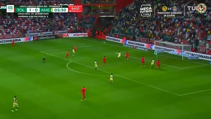 VÍDEO: así fue la derrota del América ante Toluca. DUGOUT