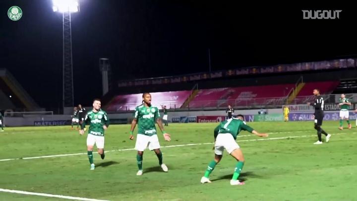 Palmeiras vence Bragantino e avança para semi com gol de Rony. DUGOUT