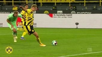 Les plus beaux buts de Haaland contre Monchengladbach. Dugout
