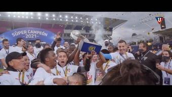 Liga de Quito won the Ecuadorian Super Cup after a 1-0 win over Barcelona. DUGOUT