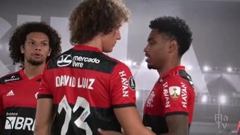 Bastidores da vitória do Flamengo sobre o Barcelona-EQU na semi da Libertadores. DUGOUT
