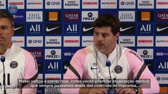 Pochettino atualiza sobre Messi e espera avaliação para duelo contra o City. DUGOUT