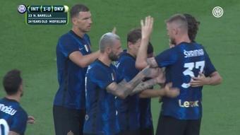 Džeko a segno al debutto con l'Inter. Dugout