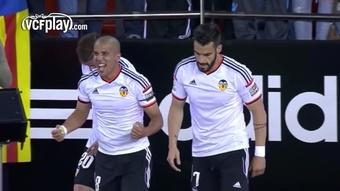 Feghouli scored as Valencia beat Granada 4-0 in 2015. DUGOUT