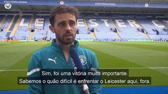 Português marcou o tento que garantiu a vitória do Manchester City. DUGOUT