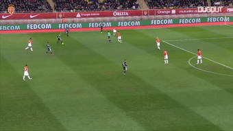 Monaco came from behind to defeat Lyon in 2018. DUGOUT