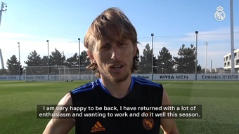 Modric will begin his tenth season with Madrid. DUGOUT