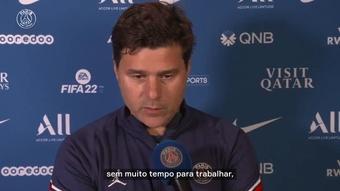 Pochettino exalta entrega dos atletas do PSG em virada sobre o Lyon. DUGOUT