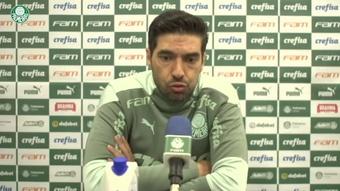 Abel Ferreira fala do impacto de um revés no clássico para semi na Libertadores. DUGOUT
