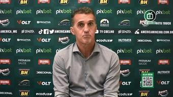 Mancini lamenta chances perdidas do América, mas valoriza ponto conquistado. DUGOUT