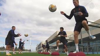 Real Madrid se prepara para encarar o Villarreal. DUGOUT