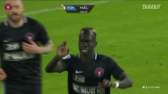 Le meilleur d'Awer Mabil avec Midtjylland. dugout