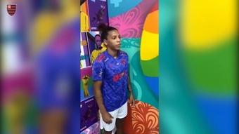 Flamengo e adidas apresentam primeira camisa Pride do clube.
