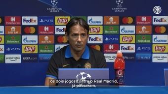 Inzaghi ignora derrotas recentes da Inter para o Real. DUGOUT