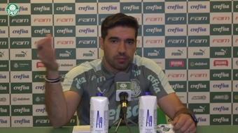 Técnico do Palmeiras falou após derrota por 3 a 1 para o Flamengo. DUGOUT